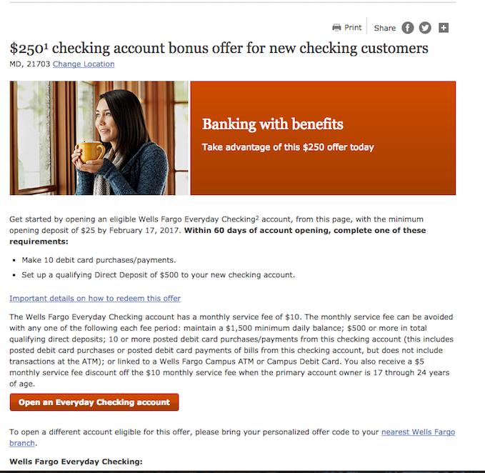 $500 Bank Bonus in 15 minutes - Wells Fargo • The Art of Travel Hacking