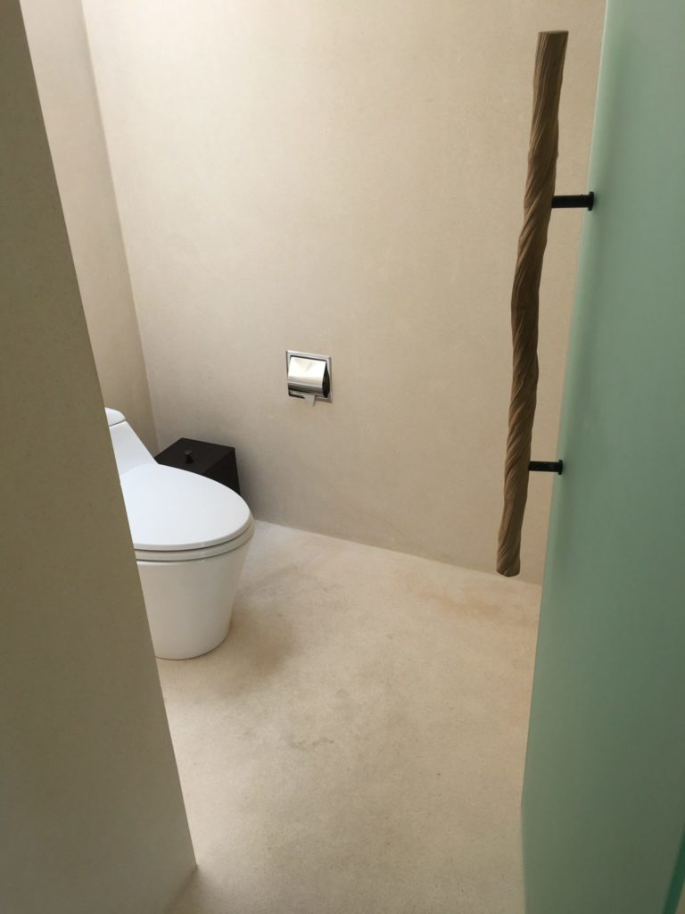 Park Sunset Water Villa toilet