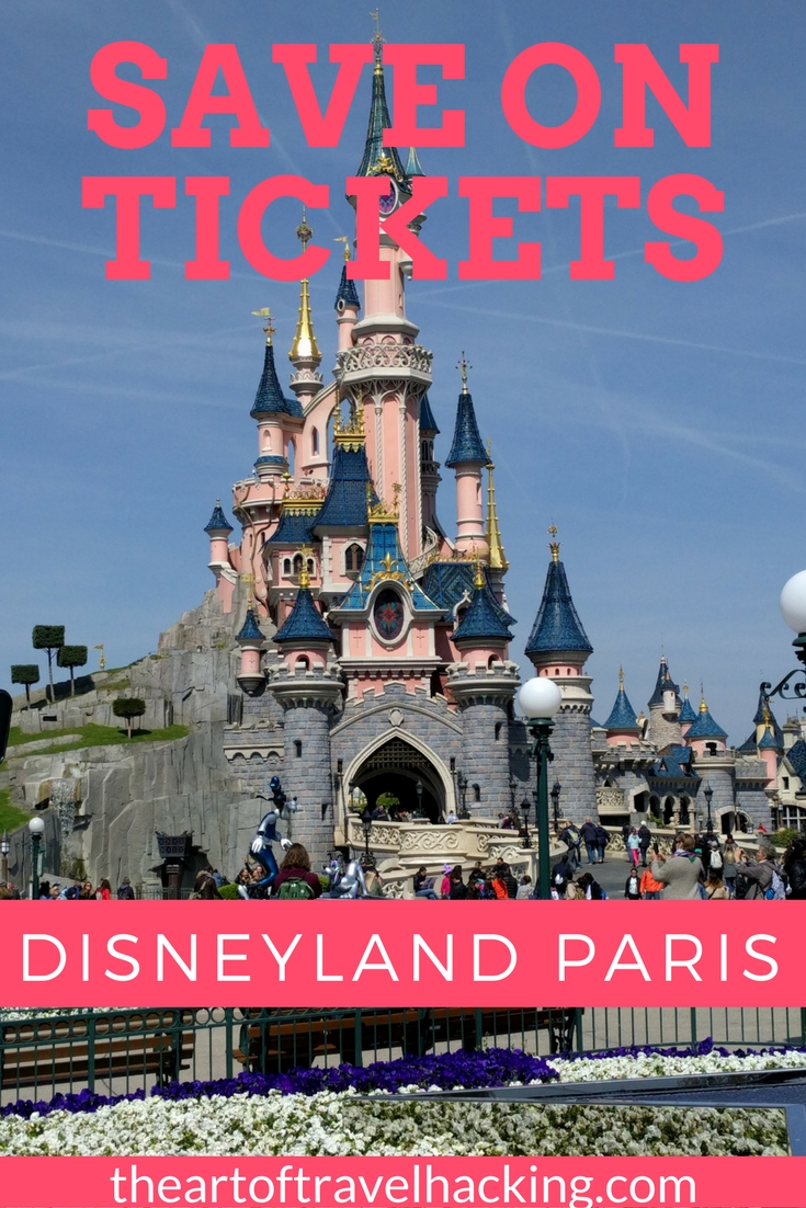 Save on tickets to Disneyland Paris