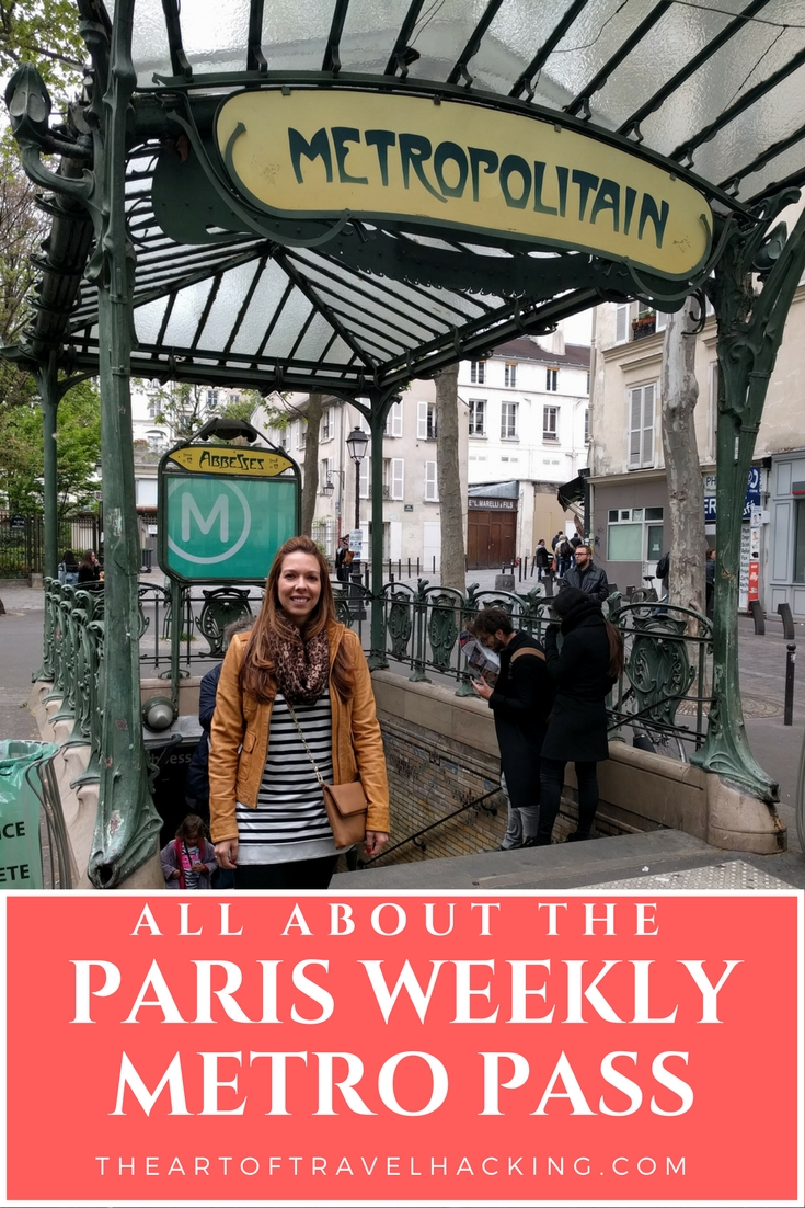 All about the Paris Weekly Metro Pass