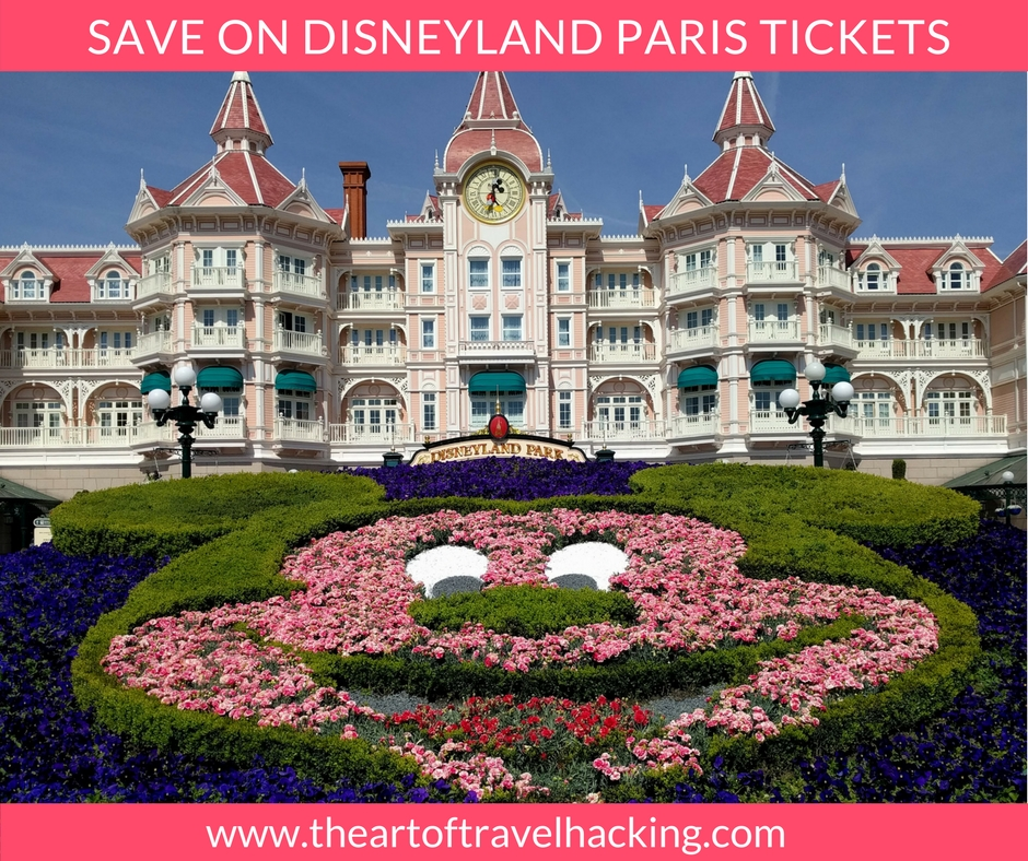 save on disneyland paris tickets the art of travel hacking. Black Bedroom Furniture Sets. Home Design Ideas