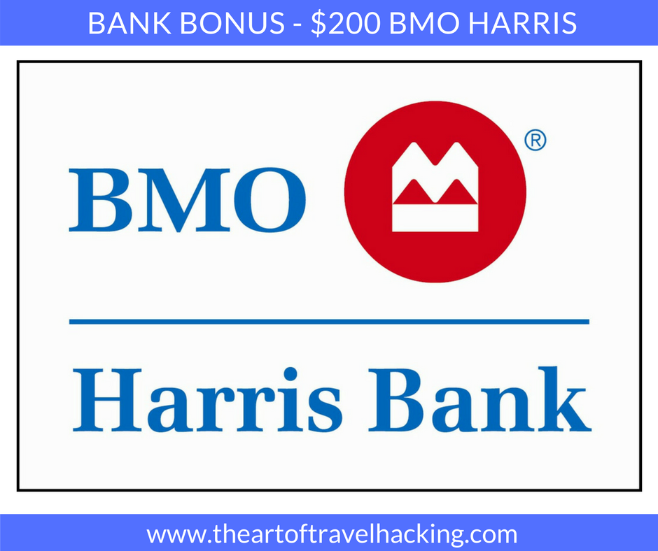 $200 Bank Bonus – BMO Harris