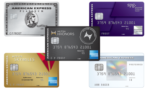 5th AMEX Credit Card Data Point