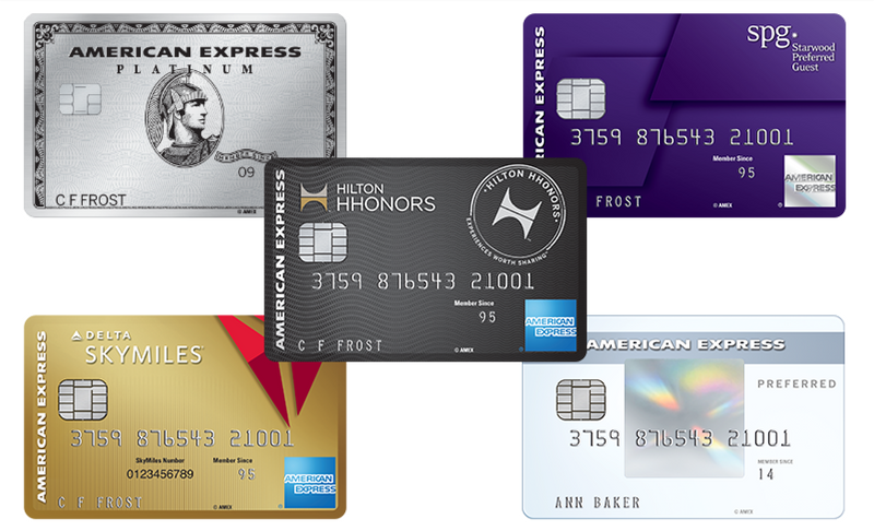 5th AMEX Credit Card Data Point