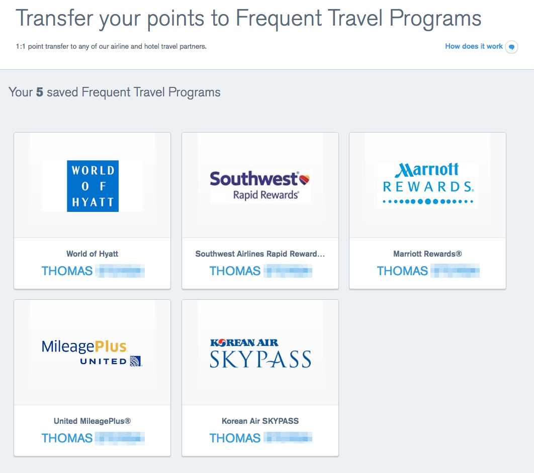 How To: Link Travel Partners to Chase Ultimate Rewards • The