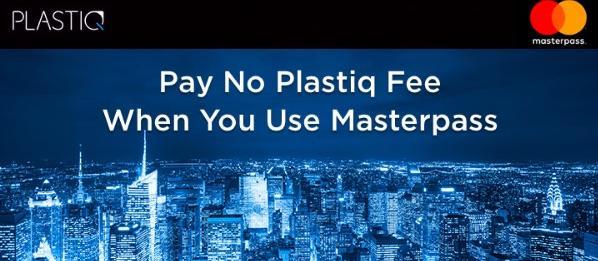 Plastiq No Fee with Mastercard Promo