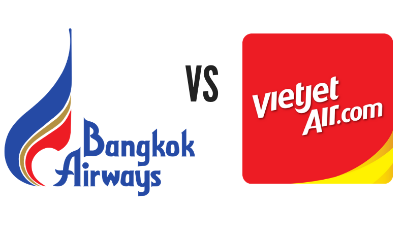 "Head to Head: 'The Bikini Airline' VietJet vs 'The Boutique Airline"" Bangkok Airways"