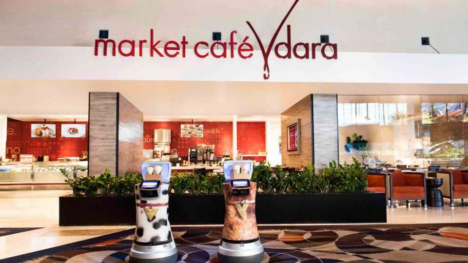 Vdara in Las Vegas Now Has Delivery Robots