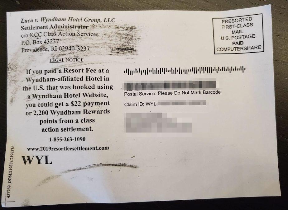 Wyndham & Fairmont Class Action Settlements
